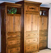 Click to view larger photo hardwood wardrobe